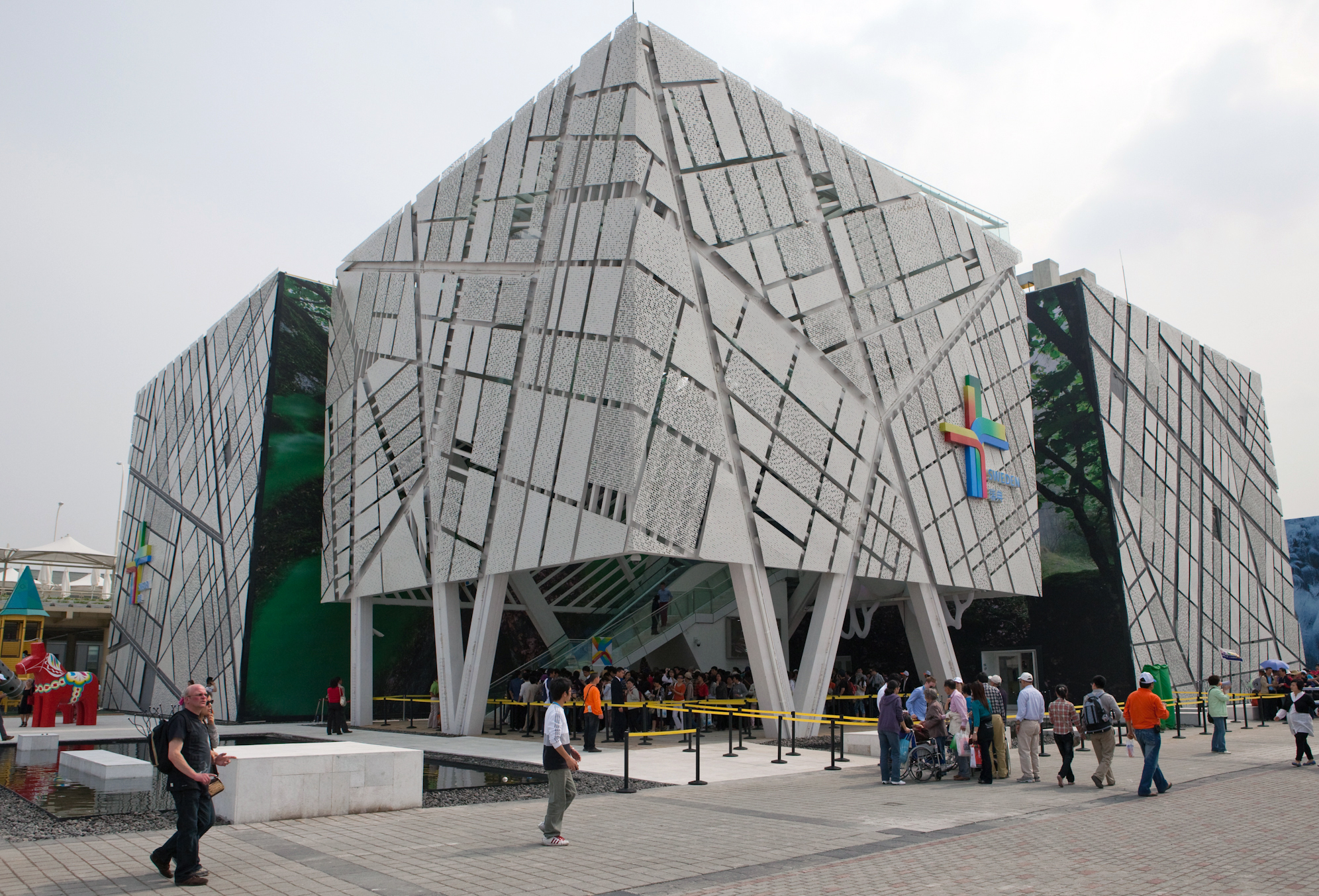 Sweden's Pavillion at the 2010 World Expo in Shanghai